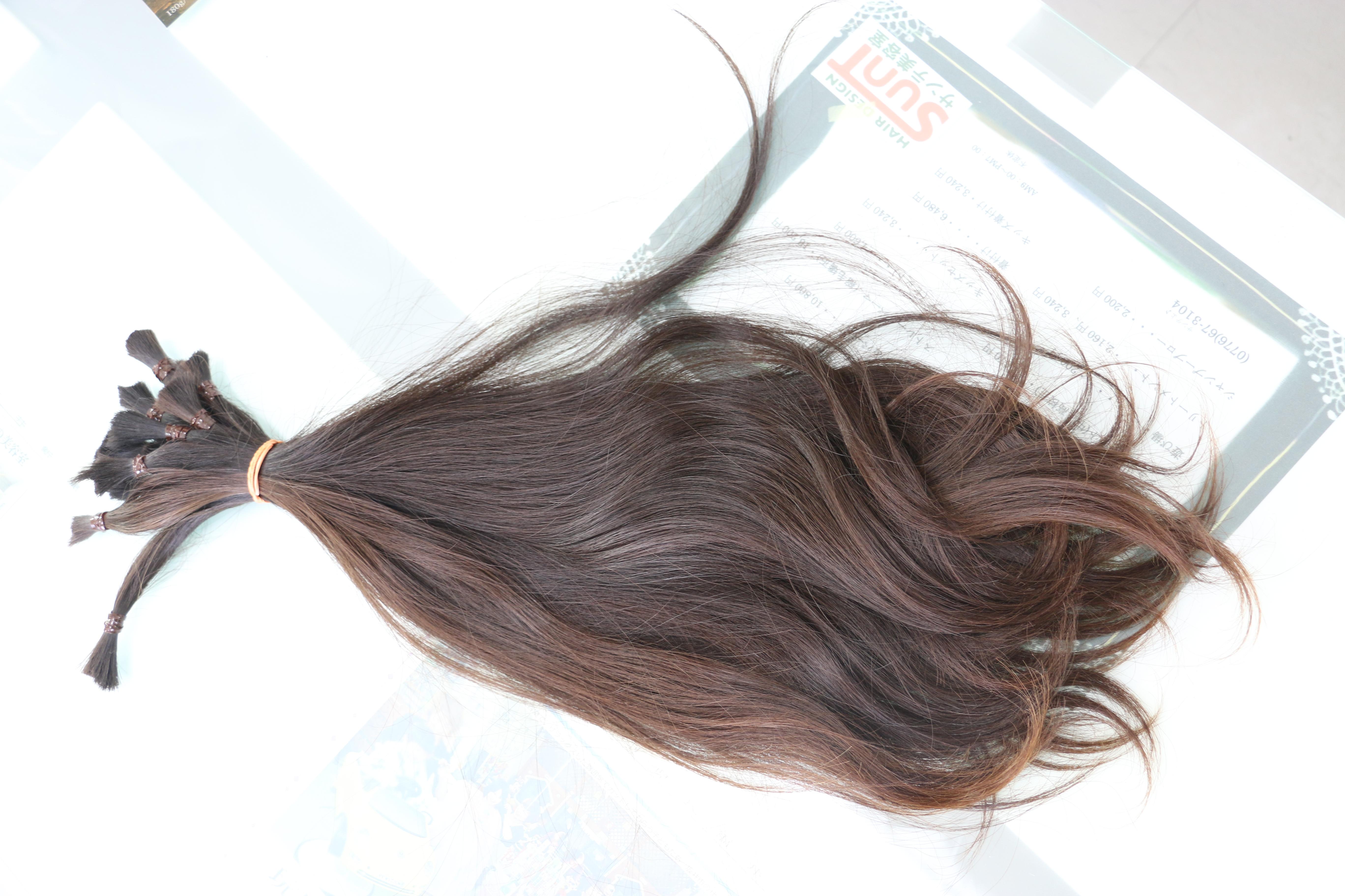 30センチ以上の毛束